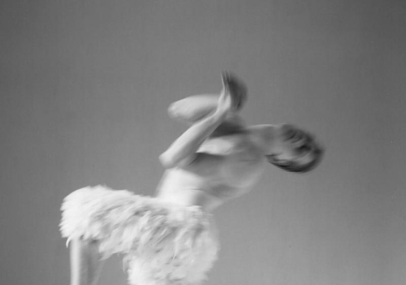 1995 studio shot of Adam Cooper as The Swan