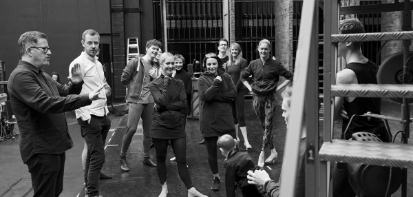 The Red Shoes Company in Rehearsals