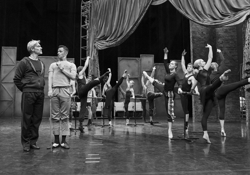 The Red Shoes Company Rehearsals