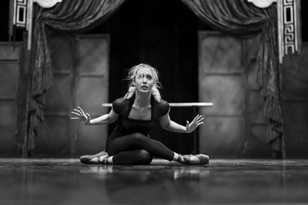 Ashley Shaw in Rehearsals for The Red Shoes