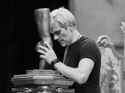 Adam Cooper in Rehearsals for The Red Shoes