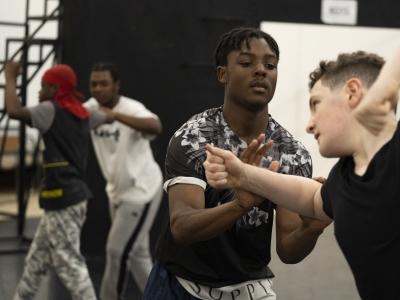 Civil Blood London Rehearsals