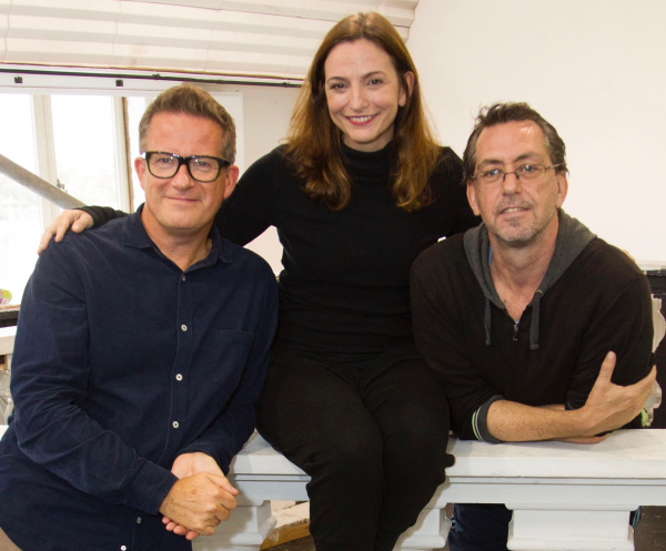 Matthew Bourne, Etta Murfitt and Scott Ambler