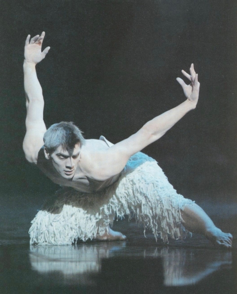 Adam Cooper in Swan Lake