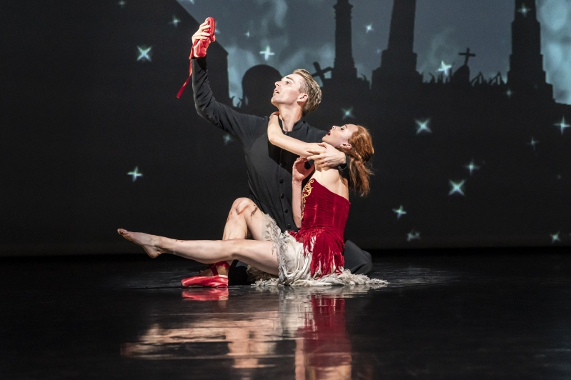 Ivan Boleslawsky (Liam Mower) and Victoria Page (Cordelia Braithwaite) - The Red Shoes