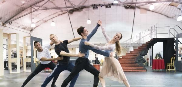 Matthew Bourne's Cinderella rehearsals