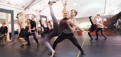 Cinderella Rehearsals