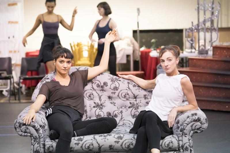 The Stepsisters (Anjali Mehra and Sophia Hurdley)