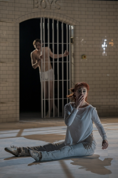 Juliet (Cordelia Braithwaite) and Romeo (Paris Fitzpatrick) - Capulet Company