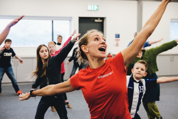 Cinderella: A Museum Adventure workshop at IWM Duxford led by Chloe Wilkinson