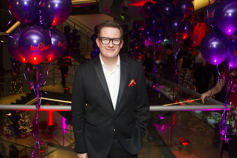 Matthew Bourne at The Red Shoes gala performance