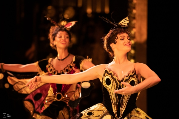 The Ballet Scene at An Opera House in Matthew Bourne's Swan Lake