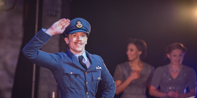 Andrew Monaghan as Harry, the Pilot in Matthew Bourne's Cinderella