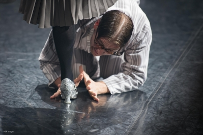 Dan Wright as Vernon in Matthew Bourne's Cinderella