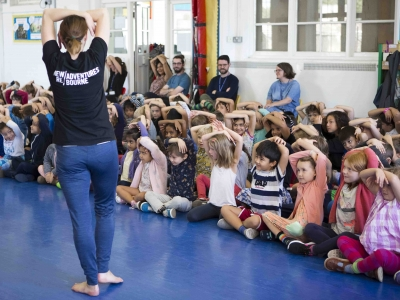 William Patten Primary School workshop