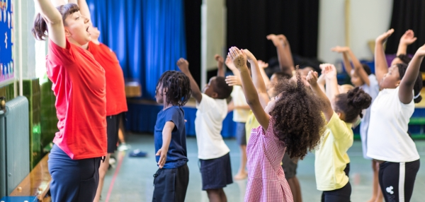 London Fields 'Dancers in Residence' Workshop