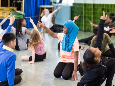 London Fields 'Dancers in Residence' Workshop