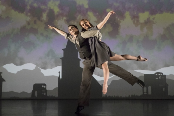 The Red Shoes – Liam Mower as Ivan Boleslawsky and, Ashley Shaw as Victoria Page