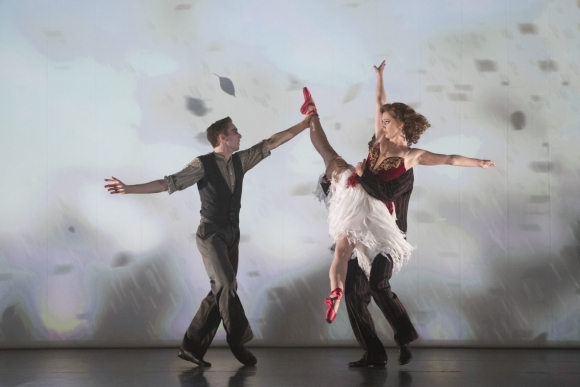 The Red Shoes – Liam Mower as Ivan Boleslawsky, and Ashley Shaw as Victoria Page