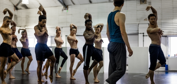 Matthew Bourne's Swan Lake in Rehearsal