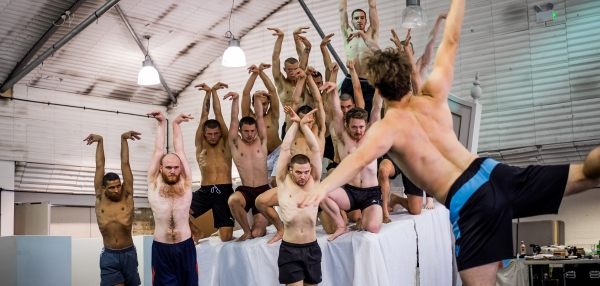 In rehearsals for Matthew Bourne's Swan Lake