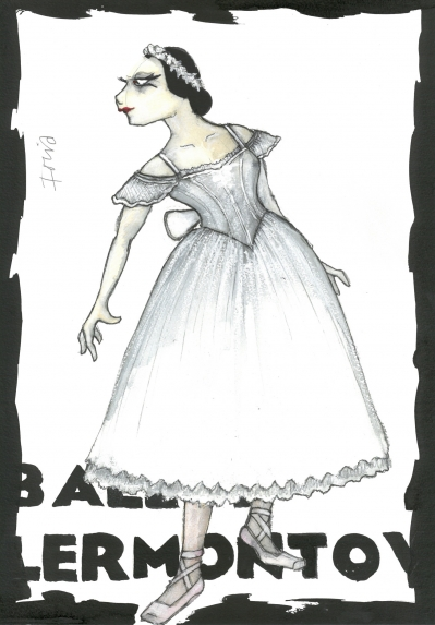 Irina Boronskaja Costume Design by Lez Brotherston