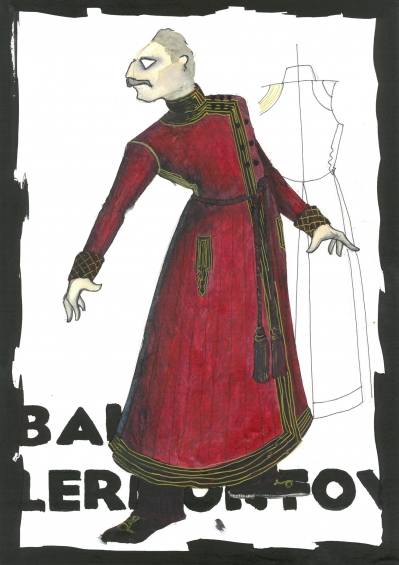 Boris Lermontov Costume Design by Lez Brotherston