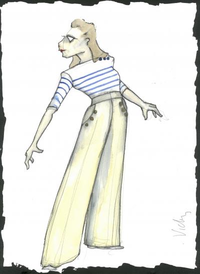 Vicky Page Costume Design by Lez Brotherston