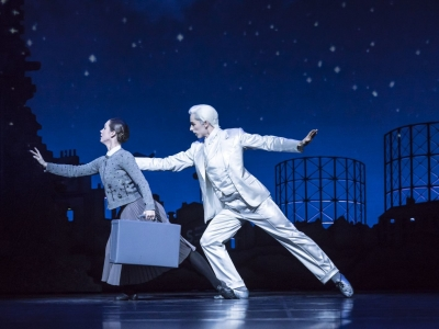 Matthew Bourne's Cinderella – Ashley Shaw as Cinderella and Liam Mower as The Angel (Cinderella's Fairy Godfather)