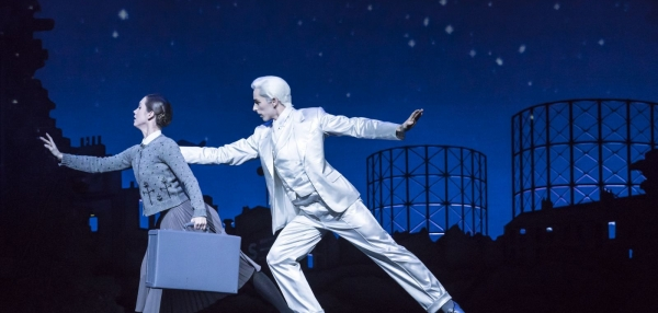Matthew Bourne's Cinderella – Ashley Shaw as Cinderella and Liam Mower as The Angel (Cinderella's Fairy Godfather)