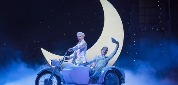Matthew Bourne's Cinderella – Liam Mower as The Angel (Cinderella's Fairy Godfather) and Ashley Shaw as Cinderella