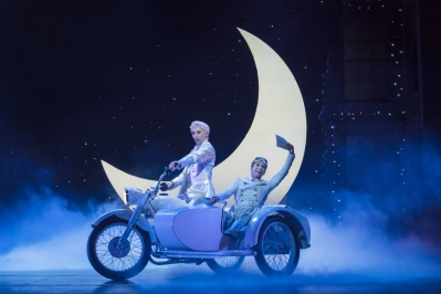 Matthew Bourne's Cinderella – Liam Mower as The Angel (Cinderella's Fairy Godfather) and Ashley Shaw as Cinderella