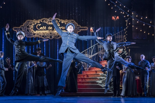 Matthew Bourne's Cinderella – Andrew Monaghan as Harry, and The Company