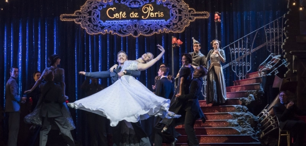 Matthew Bourne's Cinderella - Andrew Monaghan as Harry, Ashley Shaw as Cinderella, and The Company