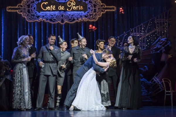 Matthew Bourne's Cinderella  Andrew Monaghan as Harry, Ashley Shaw as Cinderella, and The Company