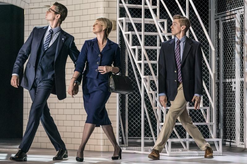 Senator Montague (Matt Petty), Brie Montague (Madelaine Brennan) and Romeo (Andrew Monaghan) - Montague Company