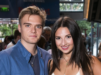 Aaron Smith and Zizi Strallen at the Romeo and Juliet Gala Performance