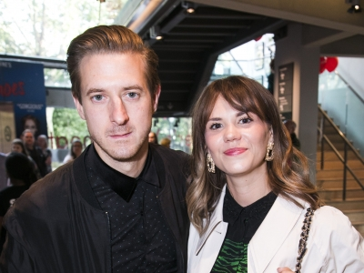 Arthur Darvill with guest at the Romeo and Juliet Gala Performance