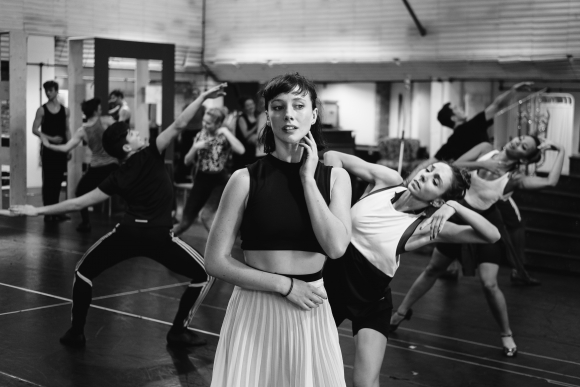 Cordelia Braithwaite in rehearsals for Matthew Bourne's Cinderella