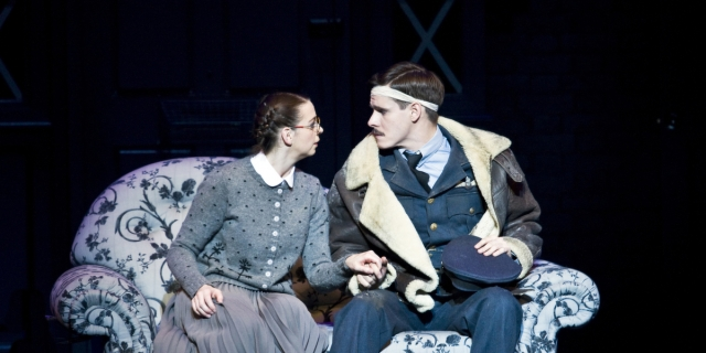 Cinderella (Kerry Biggin) and Harry, the Pilot (Sam Archer) in Matthew Bourne's Cinderella