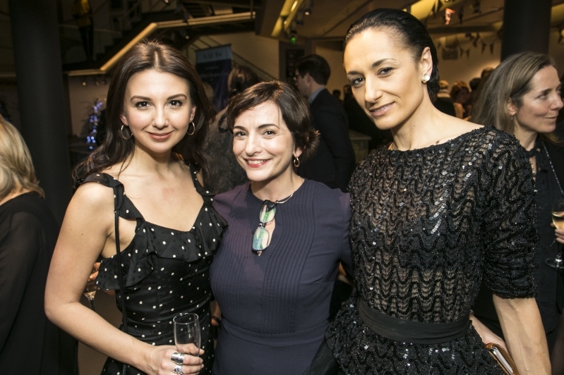 Zizi Strallen, who played Betty (Cinderella's Stepsister) in 2010; Etta Murfitt, Associate Artistic Director who was in the original cast of Cinderella and the 2010 revival alongside Michela Meazza who is playing Sybil (The Stepmother) at Sadler's Wells until 27 January 2018.