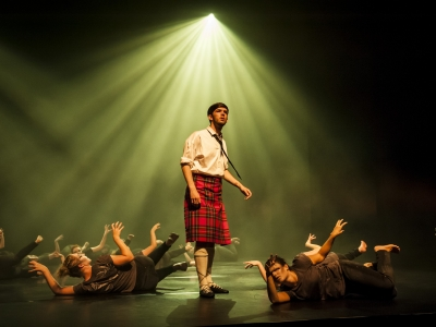 Trinity Laban Historical Projects performance of Matthew Bourne's Highland Fling