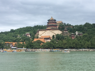 The Summer Palace view from the pedalo