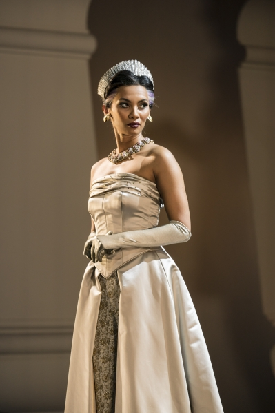 The Queen (Nicole Kabera) in Matthew Bourne's Swan Lake