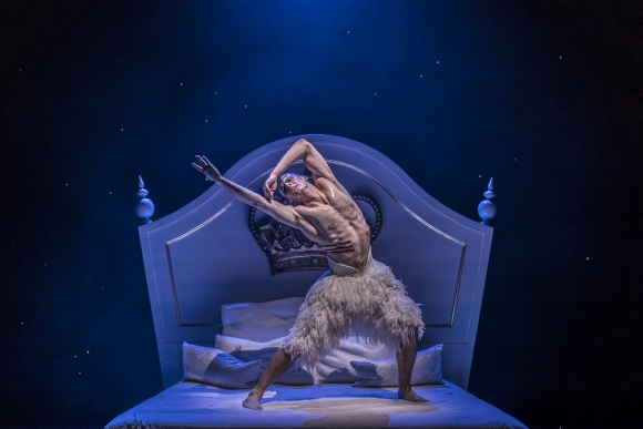 The Swan (Will Bozier) in Matthew Bourne's Swan Lake