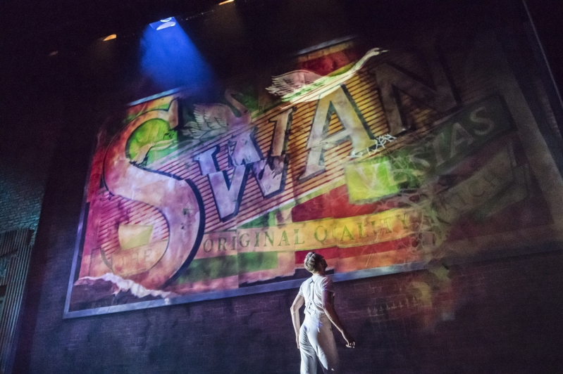 Matthew Bourne's Swan Lake, beginning of Act 2