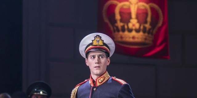 The Prince (Dominic North) in Matthew Bourne's Swan Lake