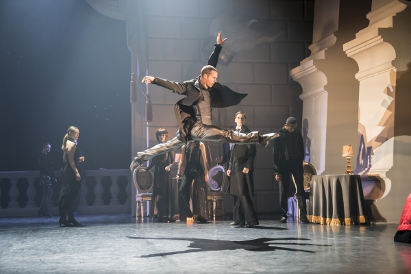 The Stranger (Will Bozier) in Matthew Bourne's Swan Lake