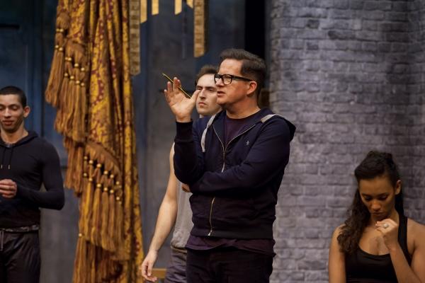 Matthew Bourne in The Red Shoes rehearsals
