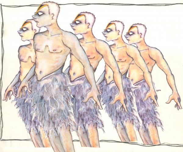 The Swans costume design